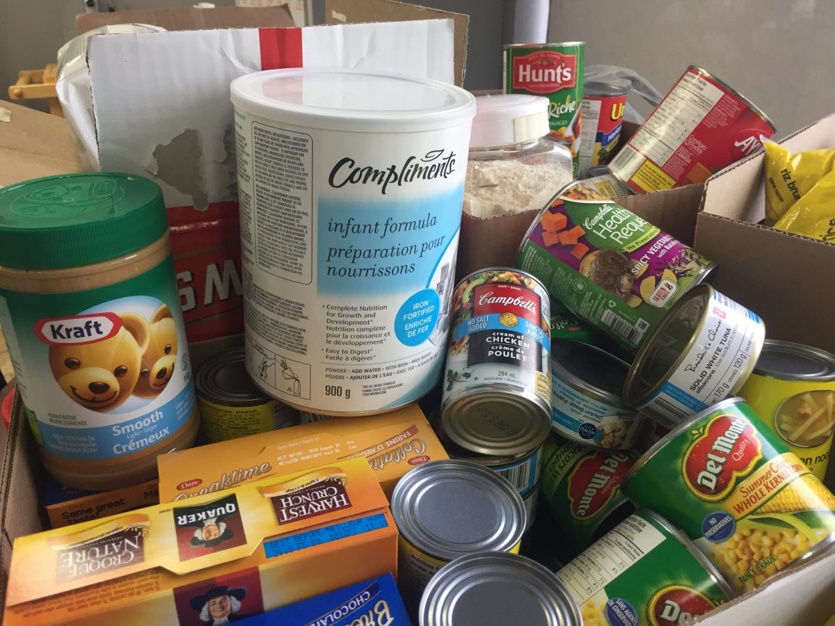 Thanksgiving Food Drive Donations