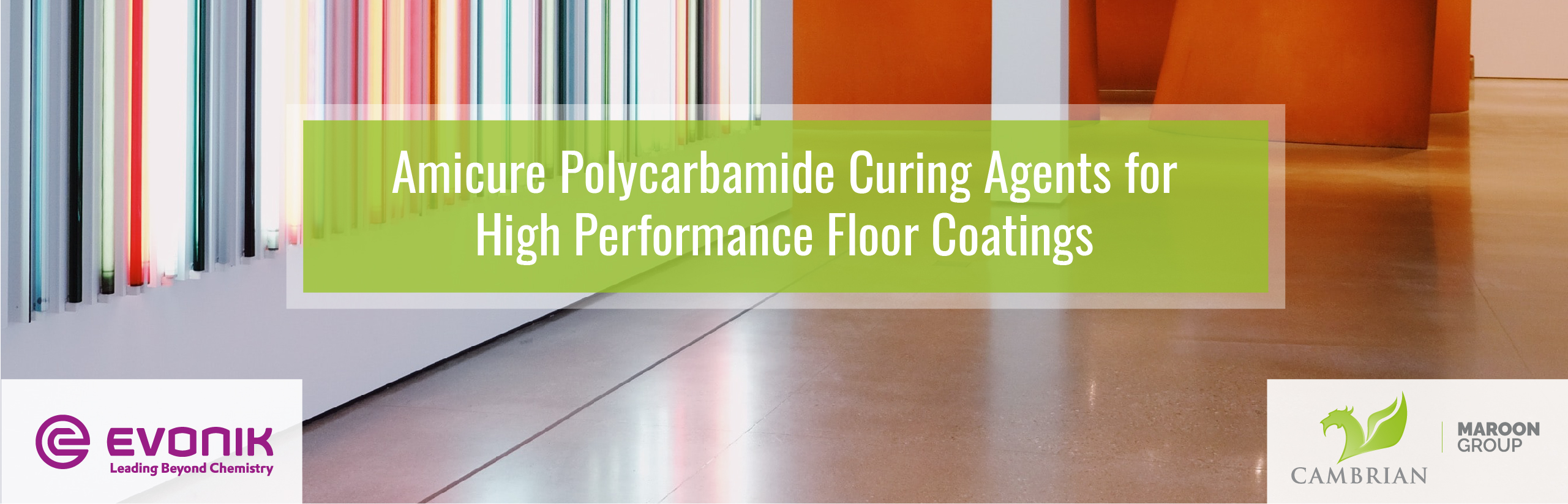 Amicure Polycarbamide Curing Agents for High Performance Floor Coatings